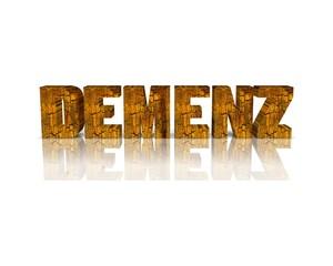 Demenz 3d wort