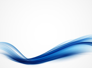 Abstract Colored Wave Background. Vector Illustration