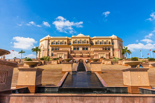 Emirates Palace, Abu Dhabi, United Arab Emirates