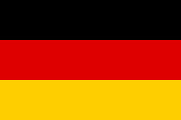 Vector of German flag. Fototapete
