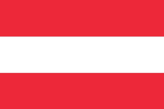 Vector of Austrian flag.