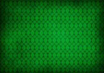 Kleeblatt Raute Grün Grunge