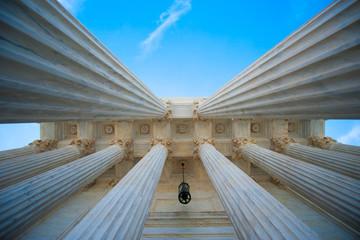 Columns at U.S. Supreme Court