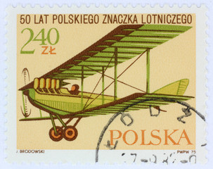 old polish stamp