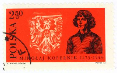 old polish postage stamp