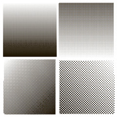 Dots on White Background. Halftone Texture.