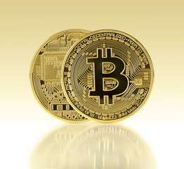 Golden Bitcoin.