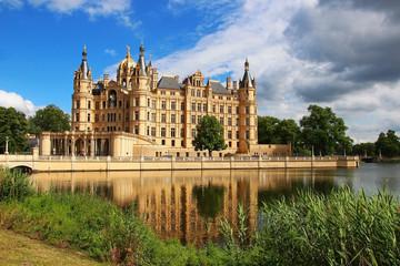 Fotobehang Kasteel Schwerin Castle, Germany