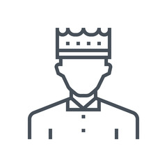 King, crown icon