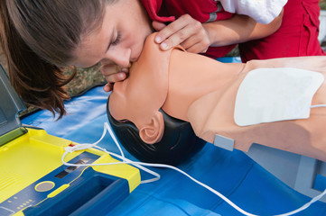 Cardiopulmonary resuscitation or CPR