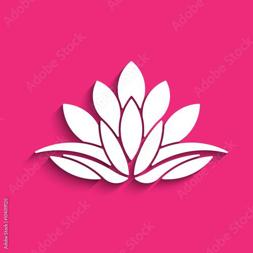 Lotus flower logo concept of spirituality peace relax vector lotus flower logo concept of spirituality peace relax vector graphic design mightylinksfo