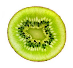 slice of kiwi