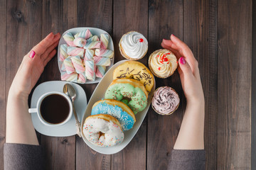 how many sweets and donuts you can eat