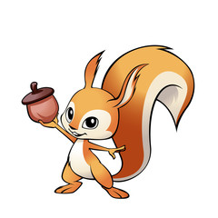 Mascot Squirrel