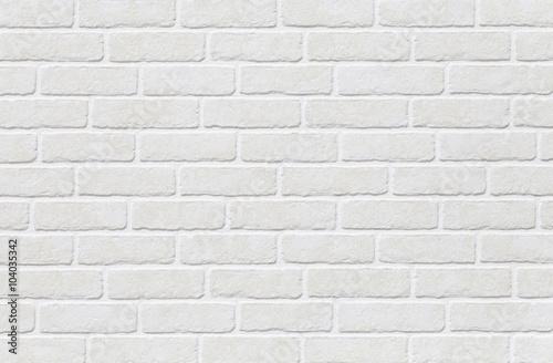 White Brick Tile Texture