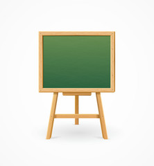 Green Black Board School. Vector