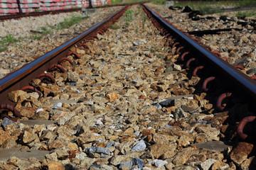 Rural rail way.