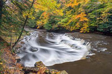 Squaw Rock Falls Autumn