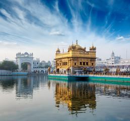 Keuken foto achterwand India Golden Temple, Amritsar