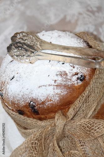 Italienischer Kuchen Panettone Stockfotos Und Lizenzfreie Bilder