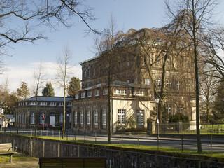 Musikhochschule Detmold - Seitenansicht