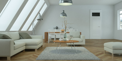 helle Wohnung im Dachgeschoß
