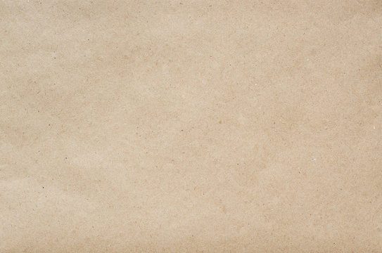 Flat craft eco paper background texture. Space for text, lettering, copy.