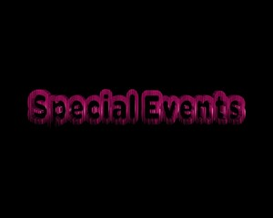 Special Events 3d wort