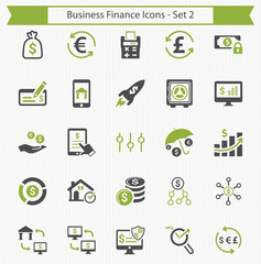 Business Finance Icons - Set 2