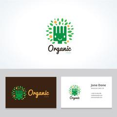 organic logo,food logo,restaurant logo,bistro logo,canteen logo,cafe logo,vector logo template
