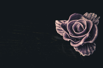 rose burial concept