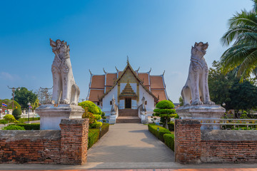 Wat Phumin is a unique thai traditional Temple of Nan province