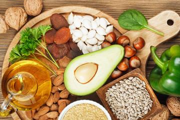 Foods rich in vitamin E