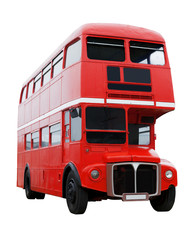 Roter Londoner Bus
