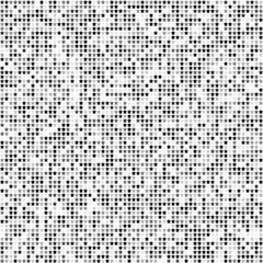 Abstract seamless pattern with gray stars on white background