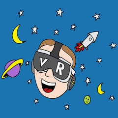 Virtual Reality Space Exploration