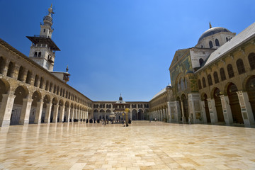 Syria. Damascus. Omayyad Mosque (Grand Mosque of Damascus)