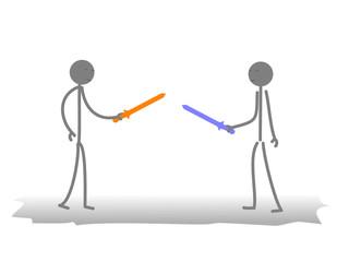 kılıç dövüşü