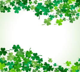 St Patrick's Day background. Vector illustration
