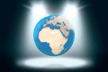 il pianeta terra sotto i riflettori