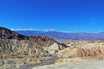 Traveling the Death Valley, USA