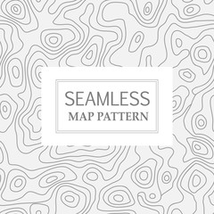 Seamless repeating  map