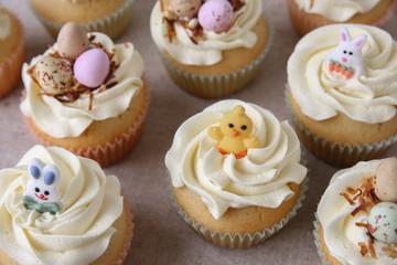 Homemade Easter cupcakes