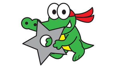 Ninja Crocodile