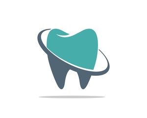 Tooth and Ring Dental Care Logo