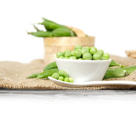 Pea in a bowl
