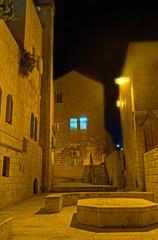 The evening in Jewish Quarter