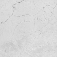 White marble stone wall background, texture with natural pattern.