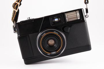 Old camera, vintage camera films popular in the past.