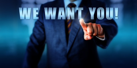 Headhunter Touching WE WANT YOU!